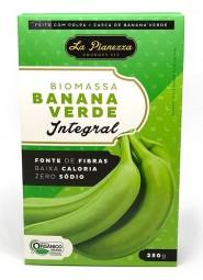 bio massa banana verde integral 250g