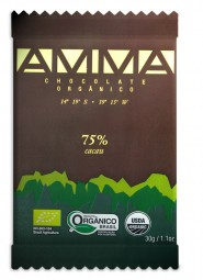 chocolate amma 75% 30g
